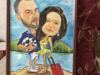 Caricaturi Șarj color profesionist și calitativ