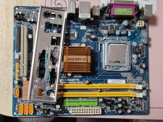 GA-G31M-ES2L Процессор в подарок Pentium E5200 2 МБ кэш