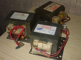 Тарелки, трансформаторы, магнетроны от микроволновки
