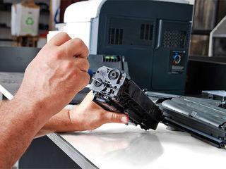 Ремонт принтеров и компьютеров. Заправка картриджей.