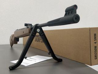 Мощноя пневматическая винтовка 400 м в сек !!!