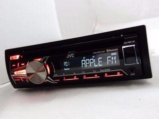 Оригинал JVC (usb,iphone,aux,Bluetooth,съемная панелька) 75 евро