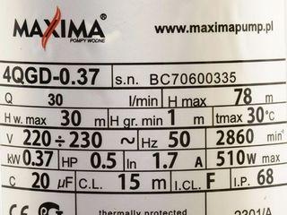 Pompa Maxima 4QGD-0.37