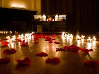 B. Будь оригинальным удиви любимую романтическим вечером