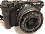 Canon EOS M3 KIT 24mp camera + EF-M 15-45mm +accesorii