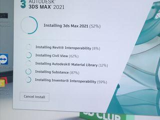 Instalarea Autodesk 3ds Max 2018-2021 ,Corona Renderer,V-Ray cu activarea La domiciliu si ofici