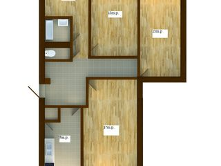 Ap. 4 cam. in cele mai reusite case cu 5 etaje, 500euro m.p. Credit pana la 10 ani, 265 euro lunar