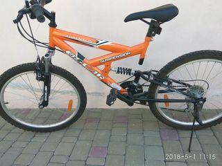 Bcicleta Oscar stare noua, mecanisc Shimano