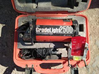 Lazer pentru canalizare. Grade Light2500.