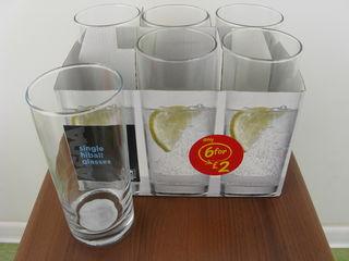 Продам красивые наборы из  бокалов ,стаканов и столовый набор тарелок и чашек и разное.