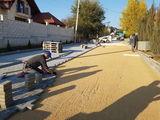 Instalare pavaj / укладка тротуарной плитки