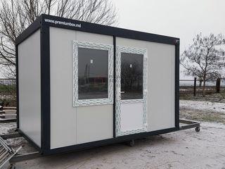 Construcție modulară Birou Vânzări, Cabină de Pază