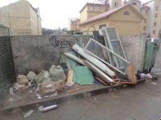 Вывоз мусора - поднятие стройматериалов