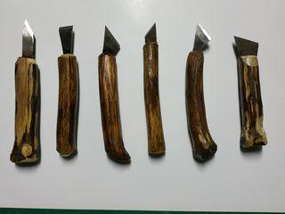 Резцы для работ по дереву. Каленая сталь.  Хэндмэйд для хэндмэйда!!!
