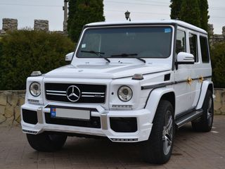 G Class (Gelenwagen) alb/negru (белый/черный)