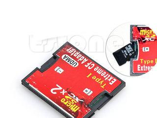 Переходник, адаптер CF Card Type Compact F - Micro SD