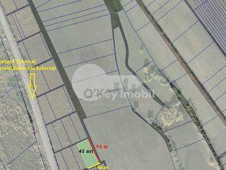 Teren cu destinație pentru construcții, 41 ari, Buiucani-Ialoveni, 650 €/ar