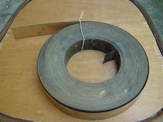 Бериллиевая бронза БрБ2, лента 32,04. Отходы (1 кг - 750 леев).