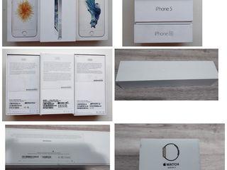Se vinde cutie de la iphone 5 16 gb, SE,Apple Watch Series 2