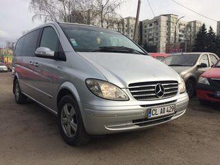 Mercedes Viano in chirie - Arenda masinilor cu 7, 8, 9 locuri