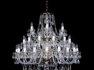 lustre de cristal din  Cehă