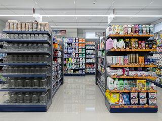 Rafturi/ Stelaje pentru magazine, marketuri, supermarketuri, statii PECO - Стеллажи торговые