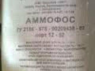 АММОФОС  12 азот 52 фосфор Россия   Ammofos