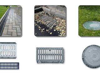 Capace canalizare din fonta (люки канализационные и решетки ливневые)