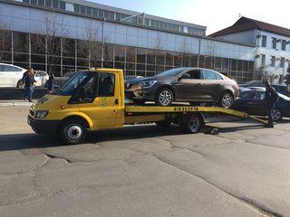 Tractari auto Chisinau Moldova - servicii evacuator Chisinau