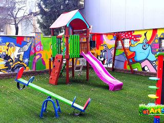 Terenuri de joaca pentru copii, acoperire cu gazon artificial !!!
