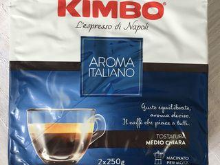 Aduc gratuit în raza orașului, dacă luați toate 6 pachete (mai mult nu am). Cafea Kimbo, Italia-60 l