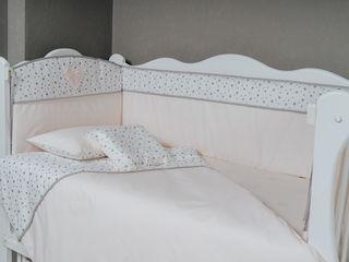 Lenjerie de pat  pentru copii, borduri, cearsafuri - livrare gratis toata Moldova