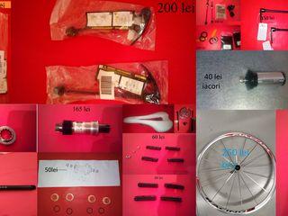 piese si accesorii pentru biciclete de sosea  si mtb