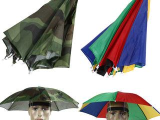 Крыша над головой во время дождя! Шапка зонтик.