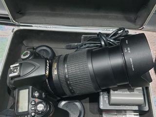 Nikon D90+Obiectiv nikkor 18-105 mm