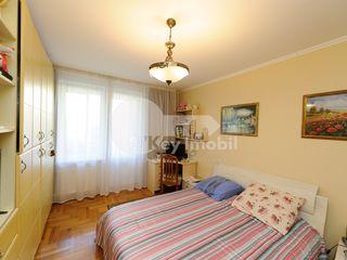 Buiucani, 3 camere, 107 mp, euroreparație, 92900 €