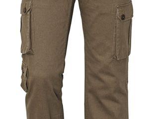 Мужские брюки-карго Chena - оливковые