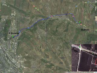 Se vinde lot de teren 12 ari, raionul Criuleni, satul Baltata