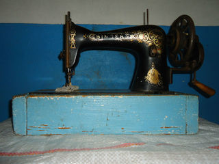 Антиквариат швейная машина Singer