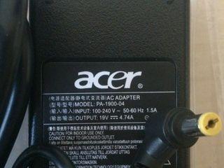 Incarcator Acer зарядка Acer новая с гарантией