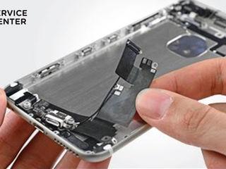 Iphone 6/6+  Не заряжает смартфон, заменим разъем!