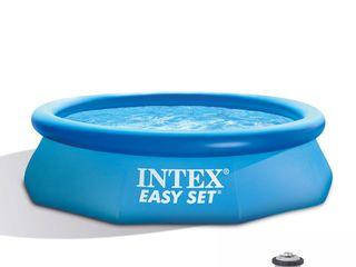 Бассейн надувной305x76cm 3853 литра Easy Set Intex