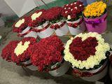 51 trandafiri 599 lei / 101 trandafiri 850 lei.