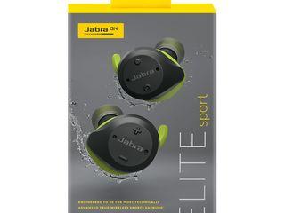 Casti Jabra Elite Sport, wireless, NOU, sigilat. Pret:115 euro
