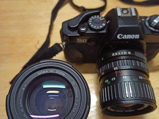 Плёночные фотоаппараты Canon, Pentax