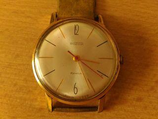 Наручные часы Восток 2209  18 камней  позолоченные  с ремешком.