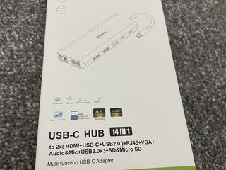 USB-C HUB 14 in 1