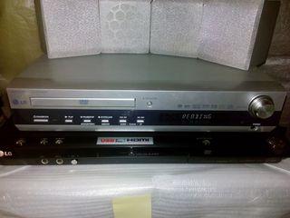 Receiver CD/DVD LG LH-D6230 5.1, FM-radio, 5 колонок, сабвуфер, пульт
