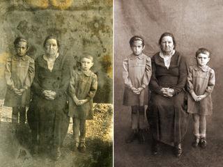 Восстанавливаю старые фото,перевожу в цифру старые пленки.