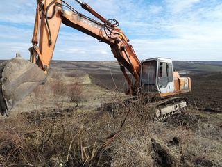 Oferim servicii de defrișare a terenurilor agricole. Услуги по уборке или расчистке.